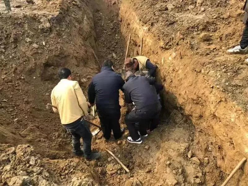 突发!湖北一污水处理厂管道施工突发塌方事故 致1受伤!