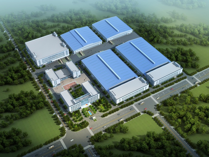 澳蓝台商投资区新工厂开工建设