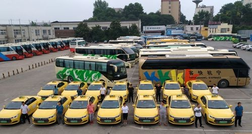 快讯!利凯(宁港)公司上线运营16辆新能源出租车