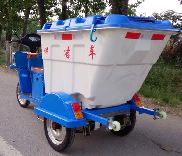 保洁车(DG3500B,500L塑料桶)