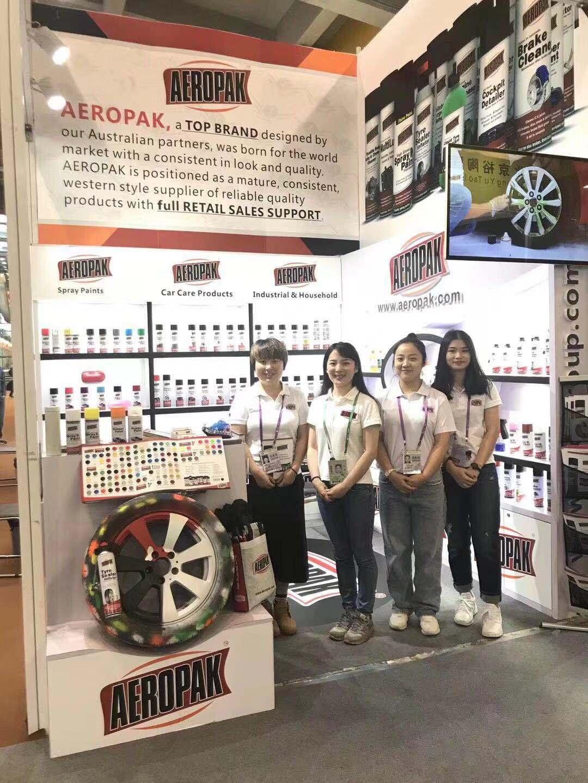 Aeropak in 124 Canton Fair 2018-10