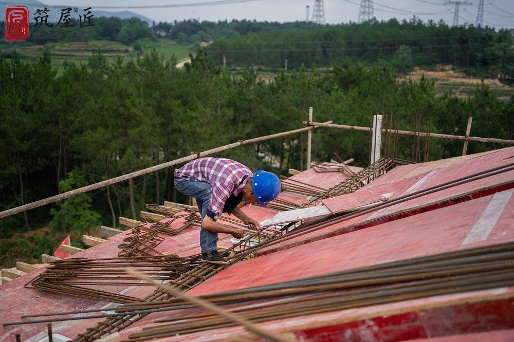 湖北乡村别墅设计建造样本,筑屋匠工程细节真功夫!