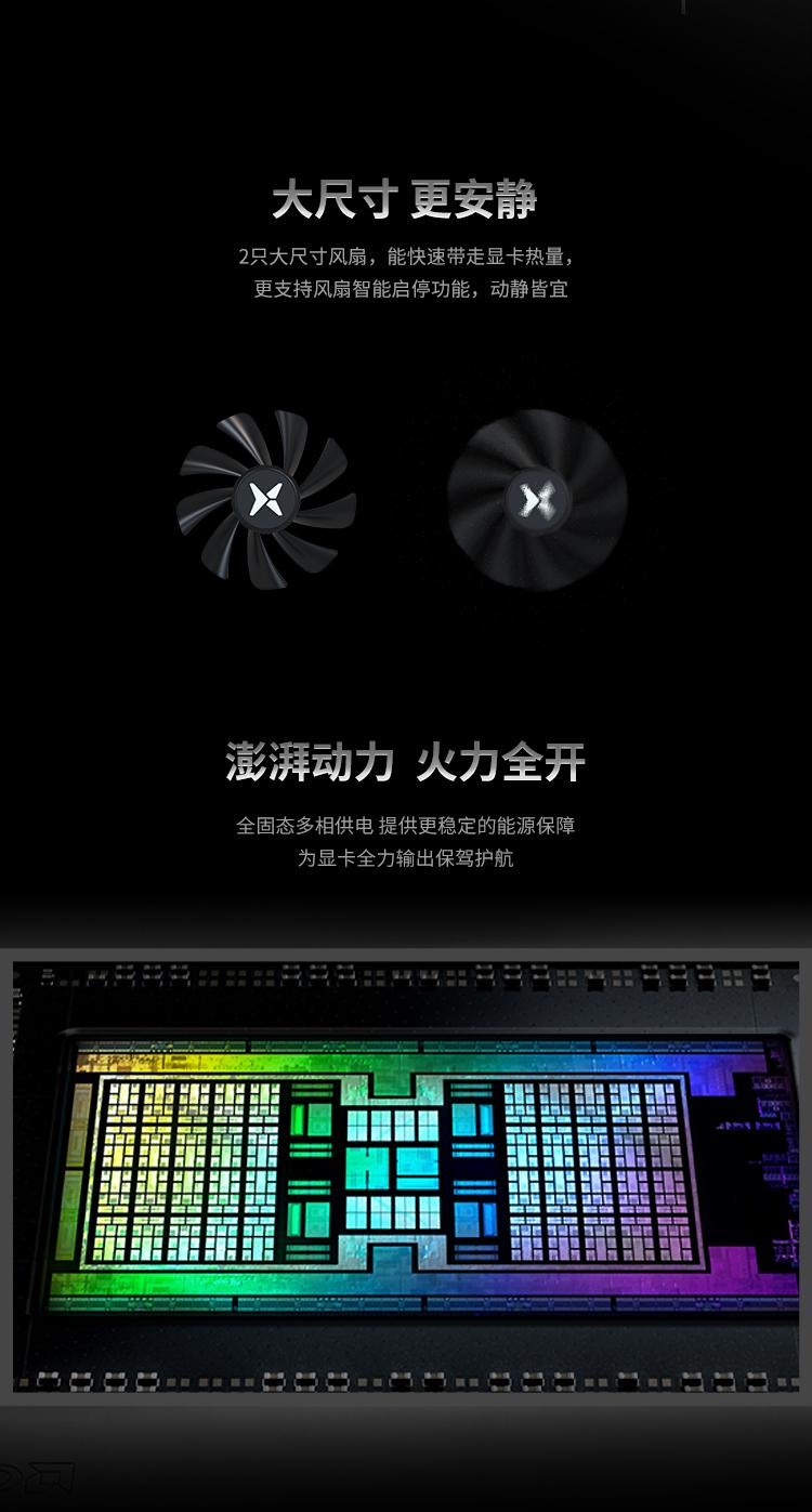 RX 6700 XT 12G X战将