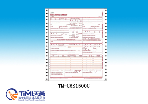 CMS1500C-Health Insurance Claim forms