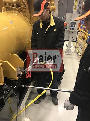 BAIER集团新年伊始,卡特彼勒公司订购拜尔液压扳手