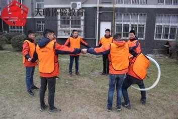 执行力培训项目:团队呼啦圈