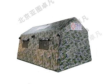 迷彩救援充气帐篷