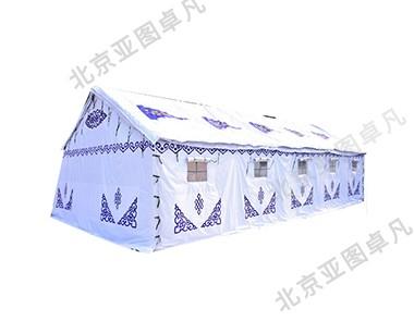 白色蒙古帐篷