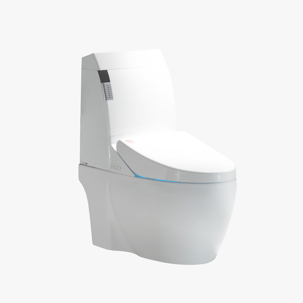 JJ-808Qz One piece automatic drying remote control siphon electric toilet
