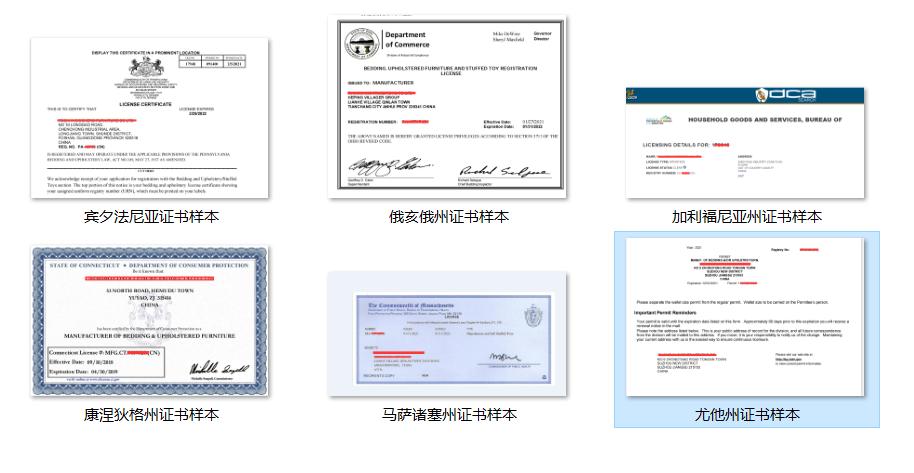 美国法律标注册