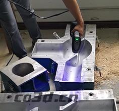 3D scanning of valve mold