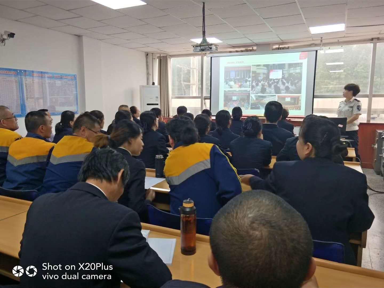宁夏中卫市火车站开展消防安全培训