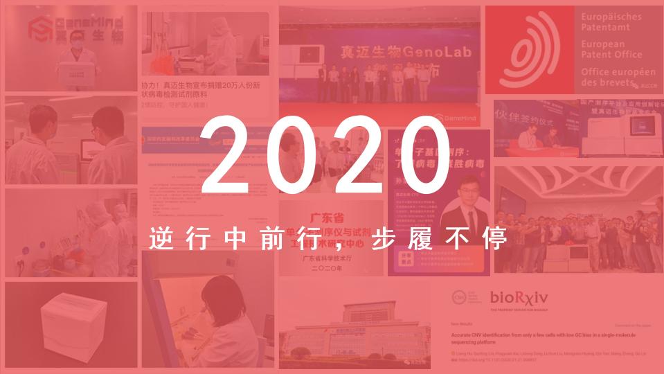 真迈生物2020丨逆行中前行,步履不停