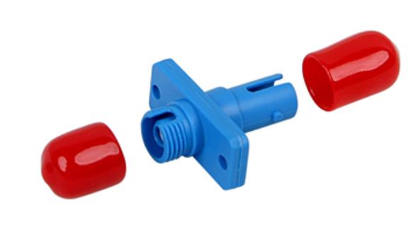 FC-ST Hybrid Simplex adapter  Plastic-SC foot print