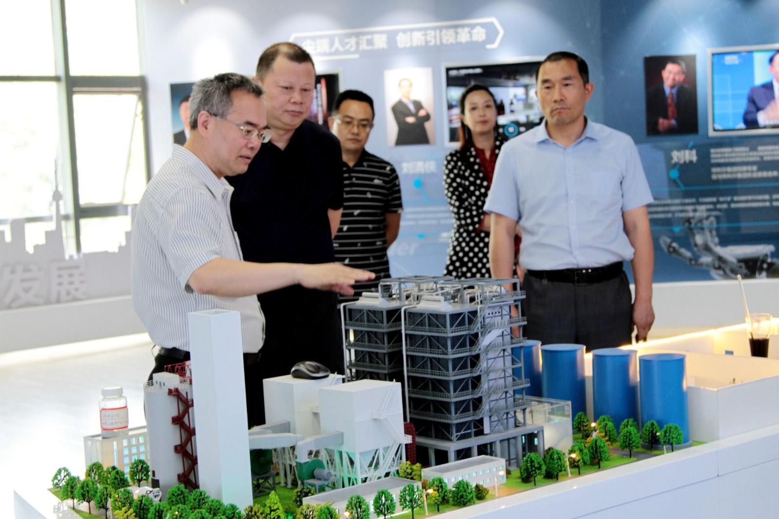 新疆生产建设兵团第八师石河子市招商组到访福彩3d开机号环保集团
