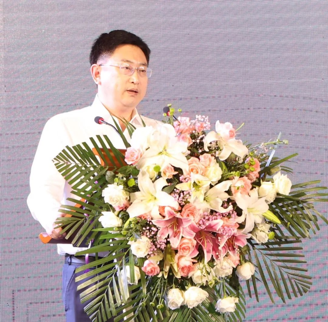 启迪控股中韩大健康合作论坛暨启迪中韩科技园项目签约仪式举行,蔡晓卫总裁出席致辞