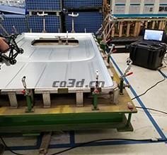 越野车车顶三维扫描检测
