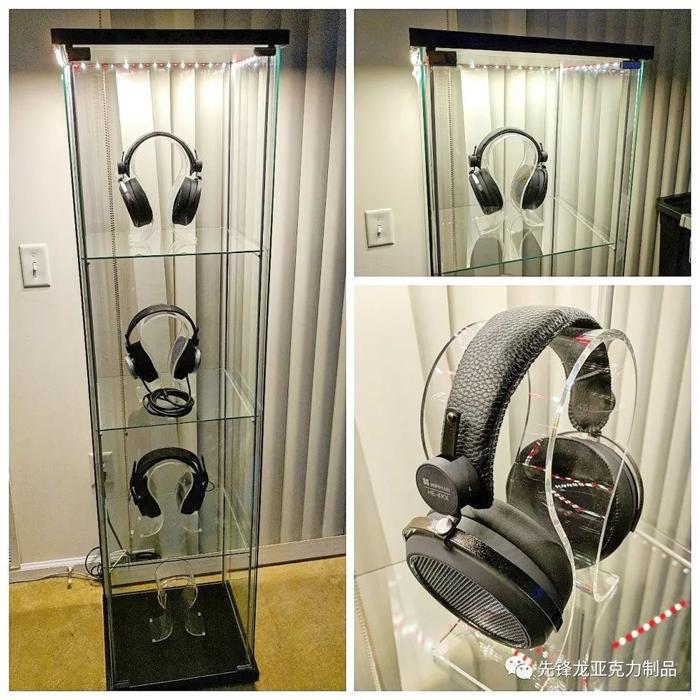 透明耳机展示柜