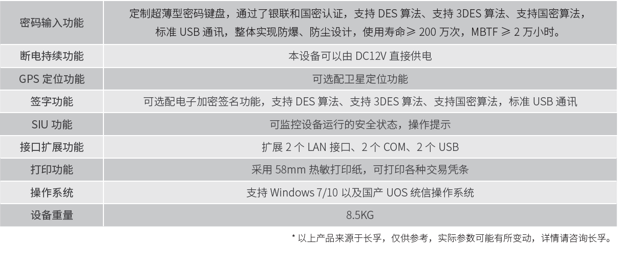 长孚 SCST-KX100 多功能平板