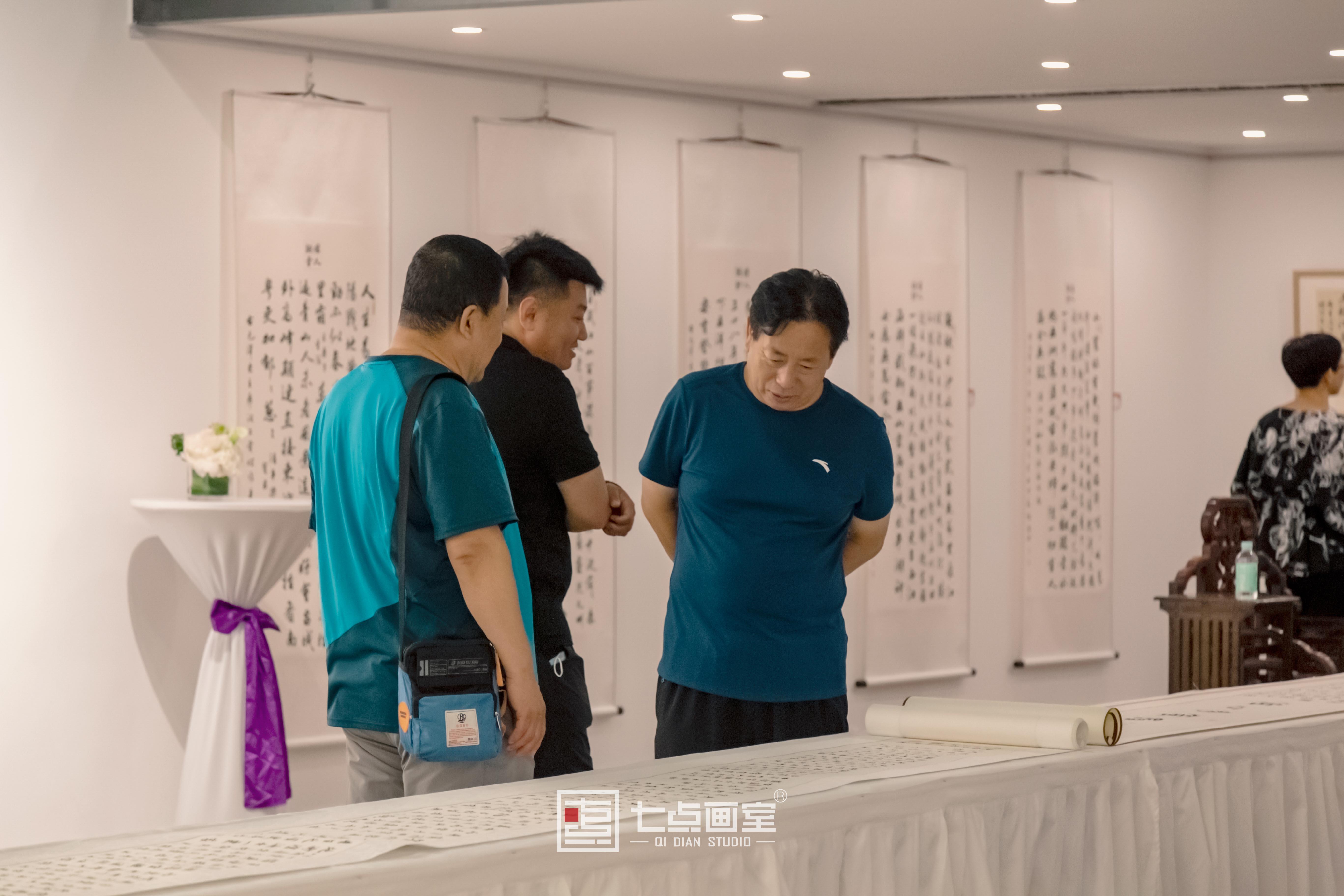 """如""""柒""""绽放「杨哲江书法作品展」在柒•美术馆正式开幕!"""