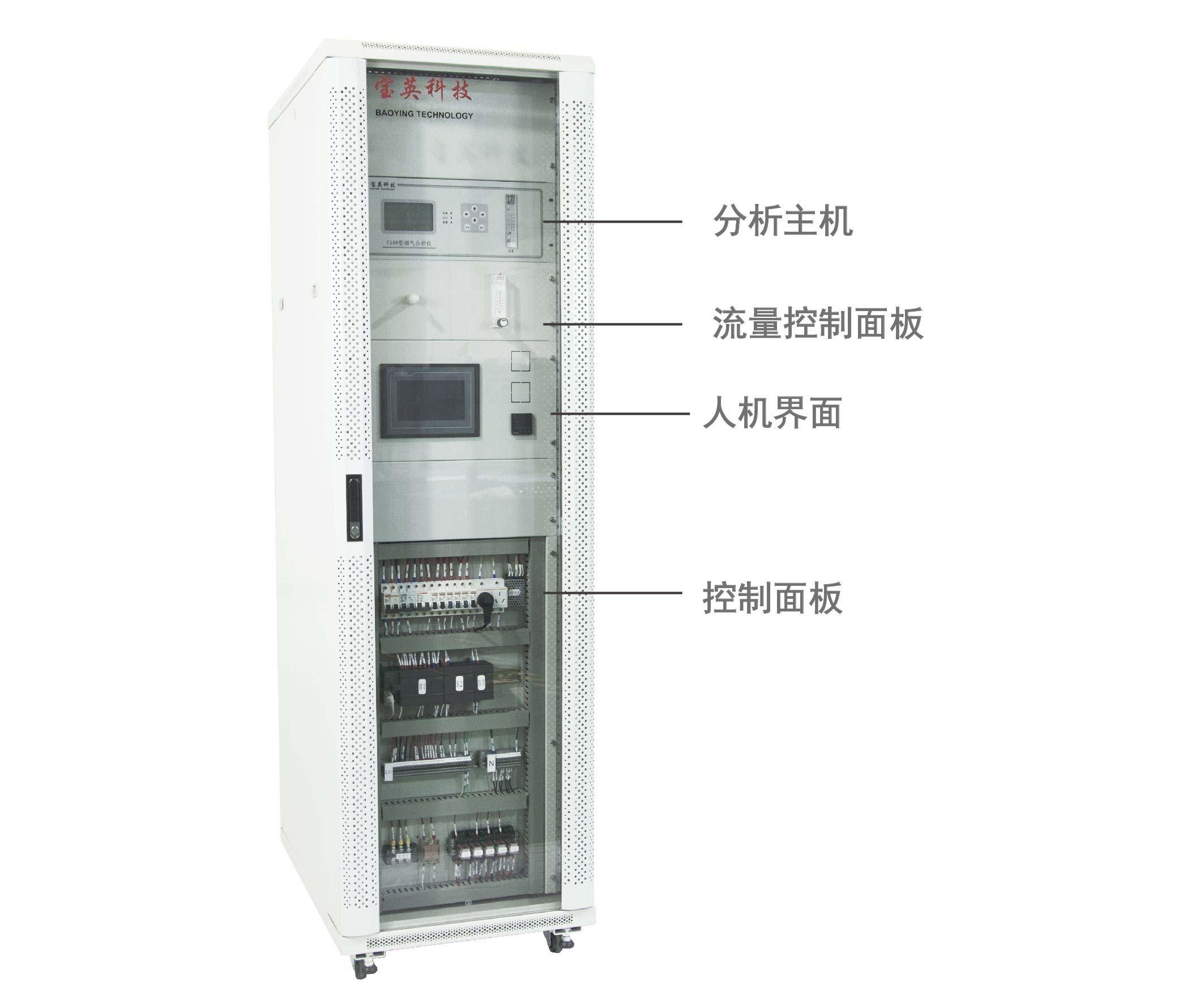 常温工业窑炉气体分析系统