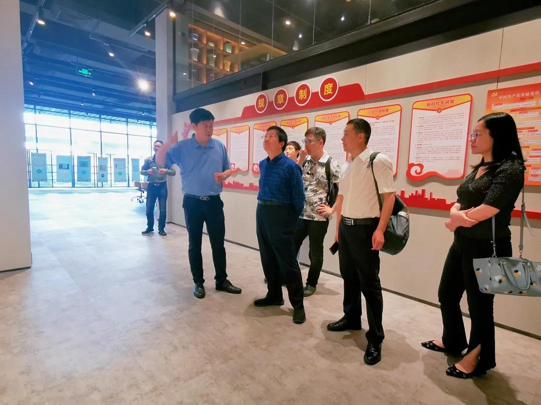 赣州市副市长及跨境电商协会领导赴海格走访调研