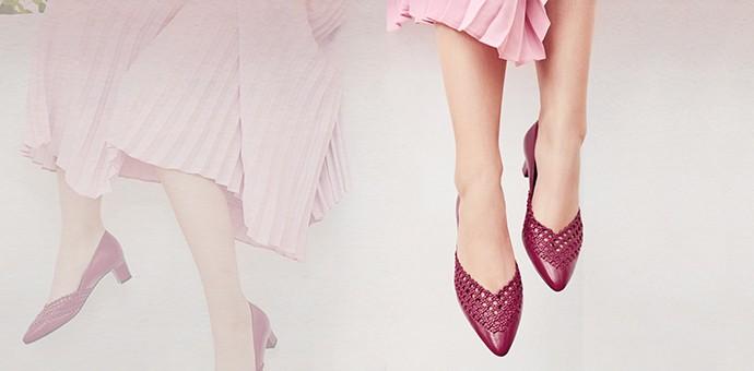 Patricia女鞋的灵魂——编织