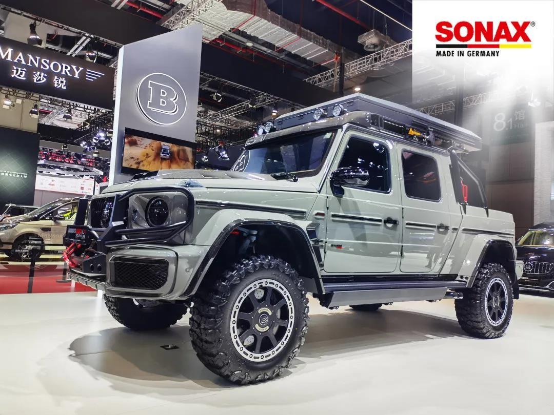 强强联合,SONAX助力BRABUS(巴博斯)上海国际车展