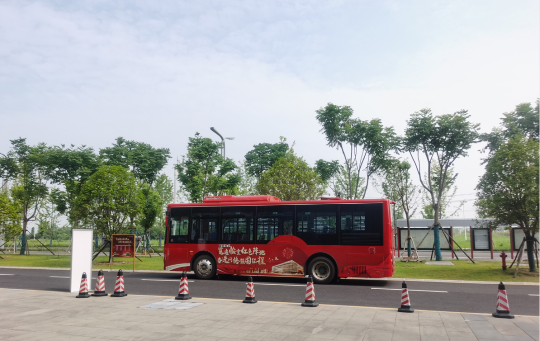 红色巴士启航 | NCSI园区党员代表览遍临空红色阵地,奋进网络强国征程