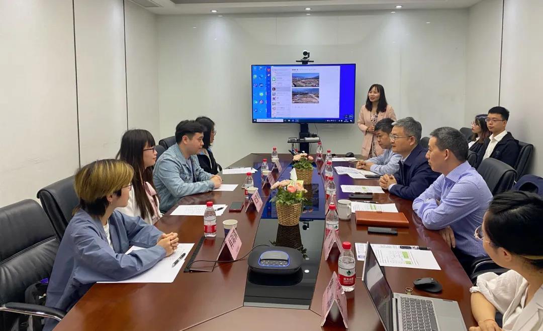 中国农业大学硕博人才团到访亚洲彩票app登录参观交流