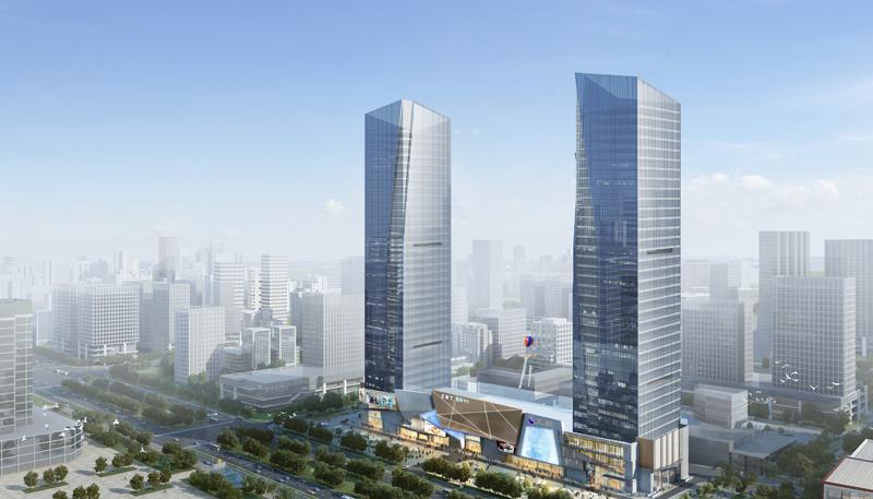永大电梯为石家庄高新CBD打造国际化商务综合体