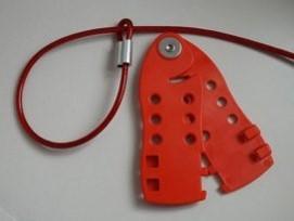 DUKE经济型钢缆锁具鱼形钢缆锁具C12