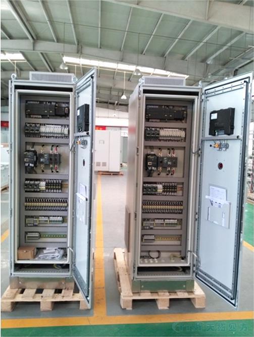 天拓四方成套电控柜成功应用在食品净化领域