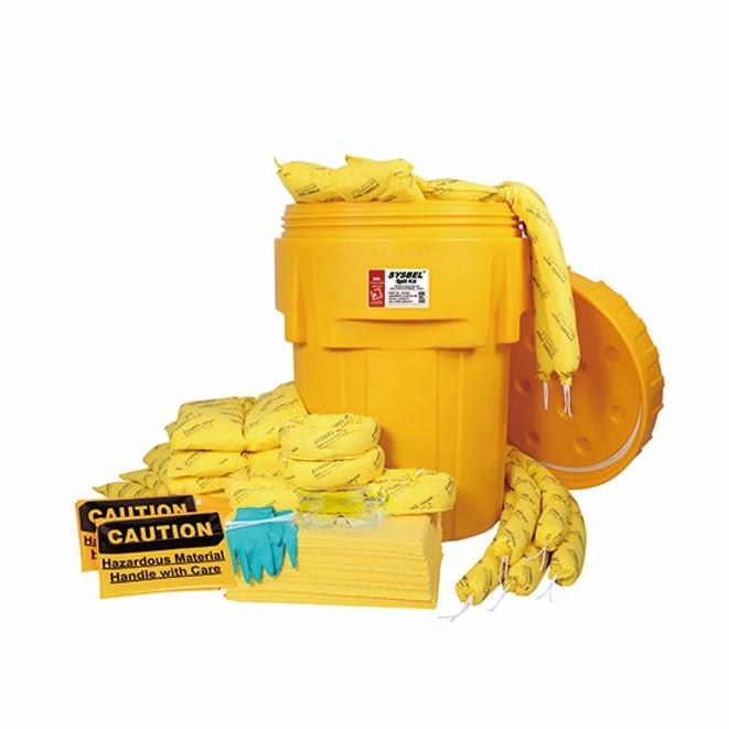 95加仑泄漏应急处理桶套装