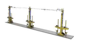3M™ DBI-SALA® SecuraSpan™ 环形钢筋式水平生命线系统