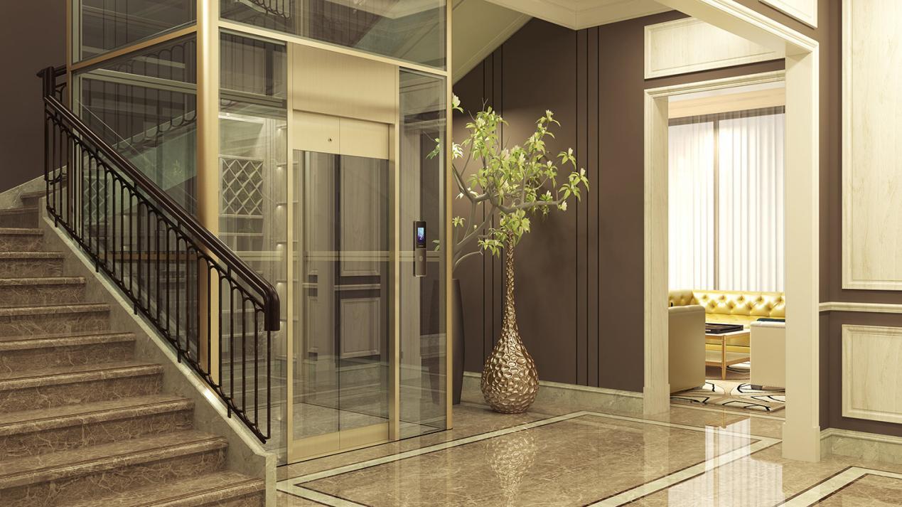 想买家用别墅电梯,又怕噪音大?永大电梯来帮您