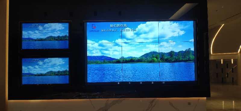 惠州合生创展时代城项目,5517,1.7mm,24块拼接屏