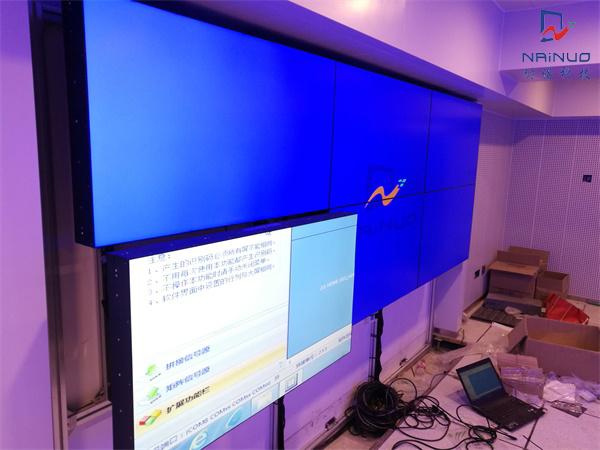 杭州某公司液晶拼接监控显示屏建设