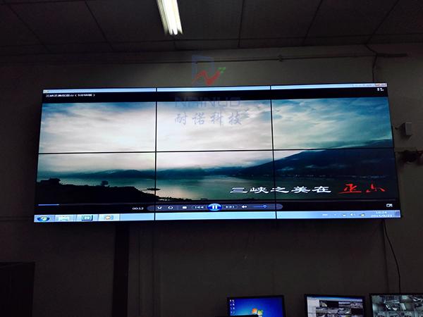 重庆万州区专用安防监控液晶拼接屏系统