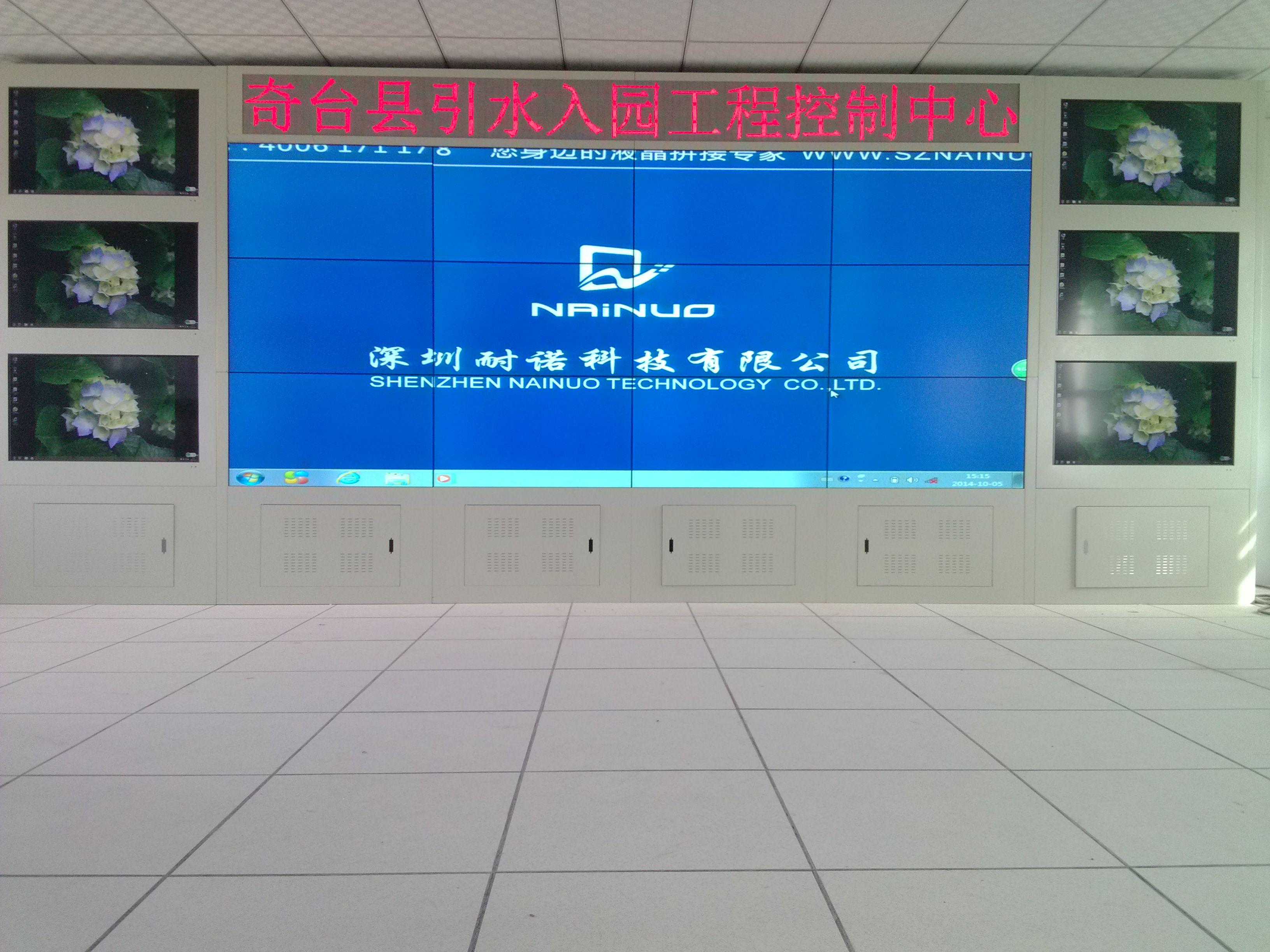 新疆奇台县某房地产开发有限公司安装液晶拼接展览展示系统