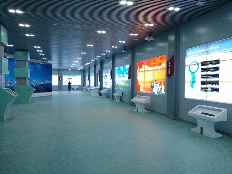 甘肃省兰州市某部队(N组)液晶拼接屏系统建设