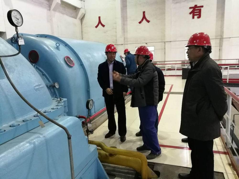 奧福董事長閆慶林與榆鋼總經理王勇交流會談