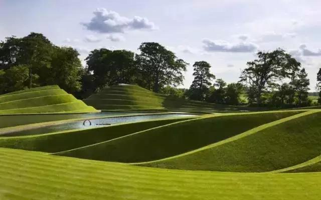 营造别出心裁的创意——微地形景观