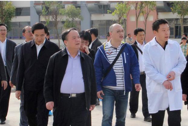 广西壮族自治区统计局局长杨和荣一行莅临广西万博手机版登录调研