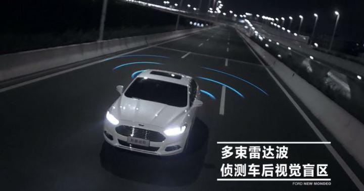 车沃视内置盲区监测BSD360全景行车辅助系统+记录仪