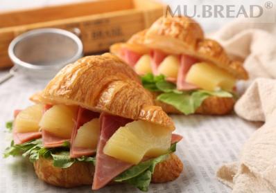 可颂三明治