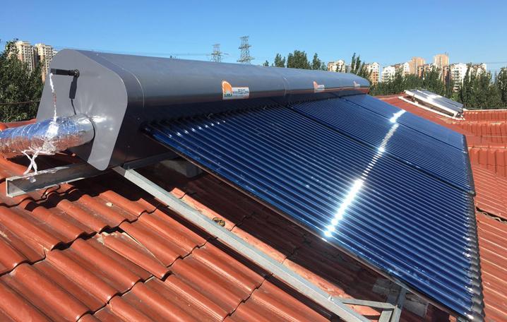 颐丰园 无动力新鲜水太阳能+电热水器
