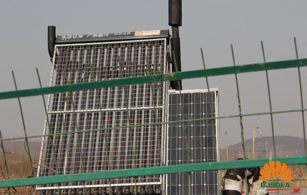 南水北调太阳能冬季保温系统