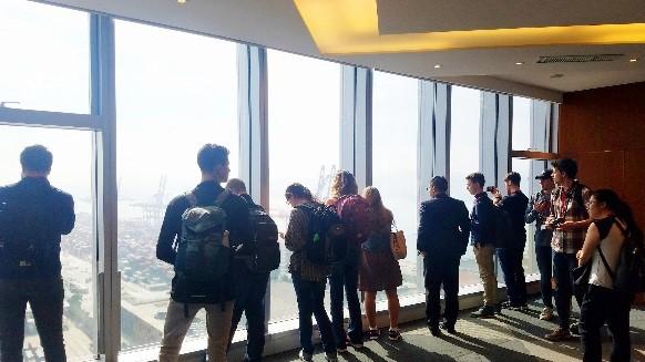 美国克瑞顿大学MBA师生参访海格物流