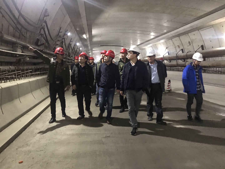 公司领导带队开展节后在建工程项目复工综合检查